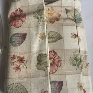 Waverly Plaid linen Valance NEW from Linens n things